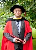Dr. Noel Carroll Graduation 2012